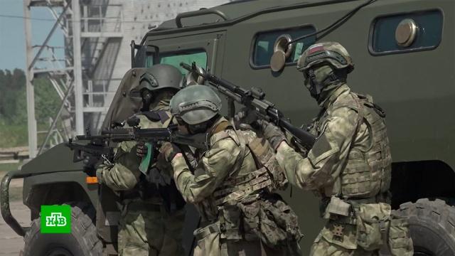 Бойцы Росгвардии протестировали военные ноу-хау на подмосковном полигоне