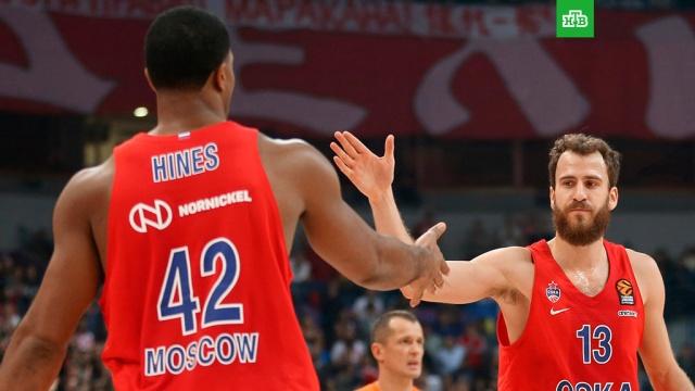 Баскетболисты ЦСКА вышли в Финал четырех Единой лиги ВТБ