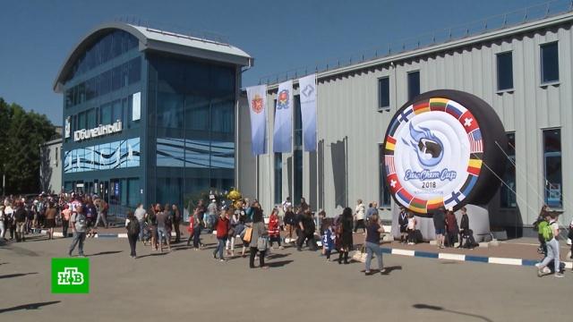 Хоккейная команда из Новомосковска выиграла международный детский турнир