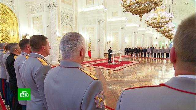 Путин объяснил, зачем России боеспособная армия