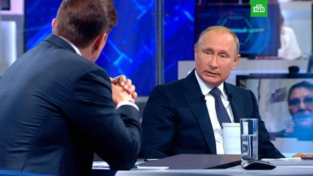 """""""Не доводить до маразма"""": Путин на вопрос о борьбе с экстремизмом"""