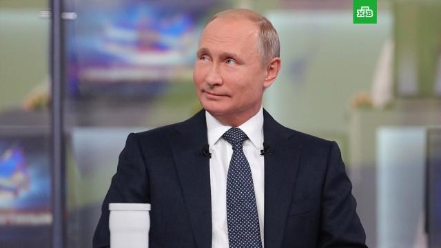Прямая линия с Владимиром Путиным: текстовая трансляция