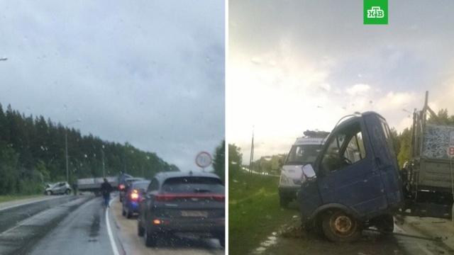 В ДТП под Козьмодемьянском пострадали 6 человек