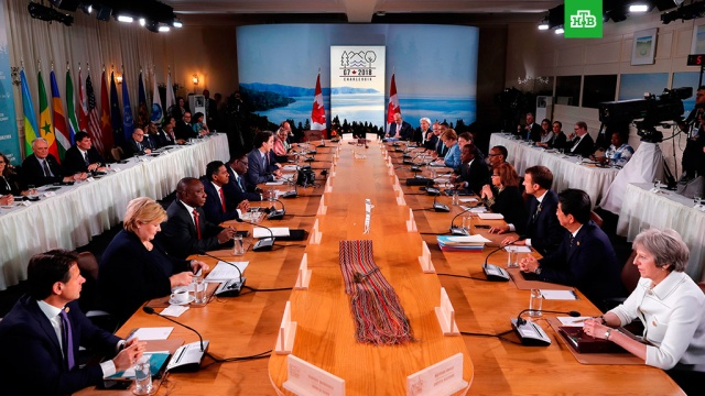 Лидеры G7 договорились о противодействии враждебной России