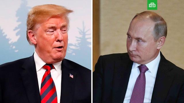 Песков подтвердил, что Путин и Трамп обсуждали возможность встречи в Вене