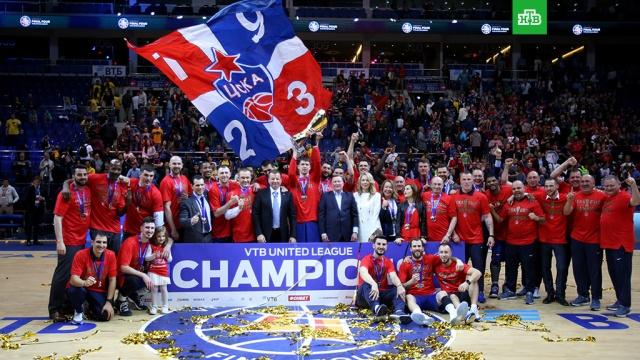 Характер победителя: баскетболисты ЦСКА в 7-й раз подряд стали чемпионами Единой лиги ВТБ