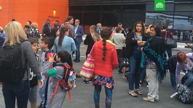 Из терминала аэропорта Шереметьево эвакуировали людей