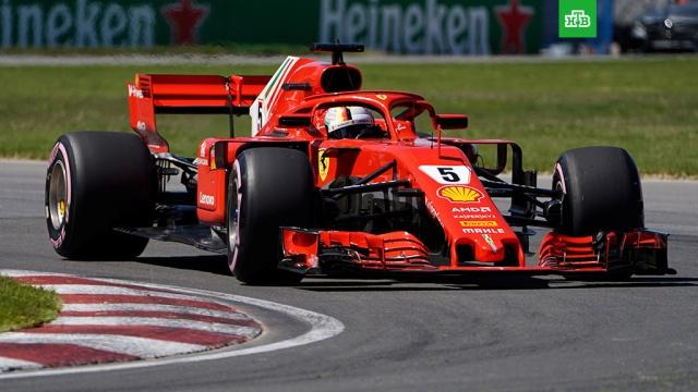 Формула-1: Феттель выиграл Гран-при Канады