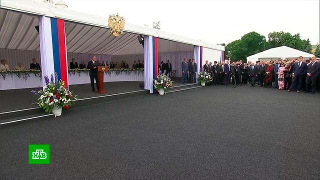 Путин на торжественном приеме в Кремле рассказал об объединяющей россиян нити