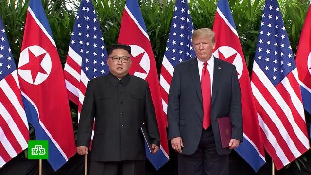 Исторический саммит: Трамп и Ким посулили миру фантастические перемены