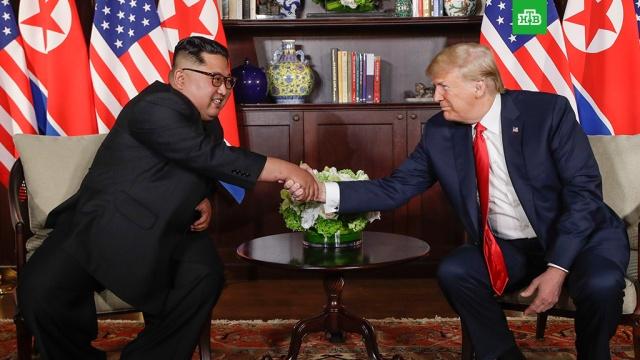 Трамп уверен, что выстроит отличные отношения с Ким Чен Ыном