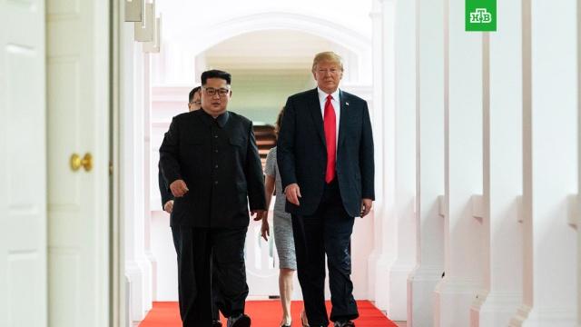 Лидеры США и КНДР завершили встречу в расширенном формате