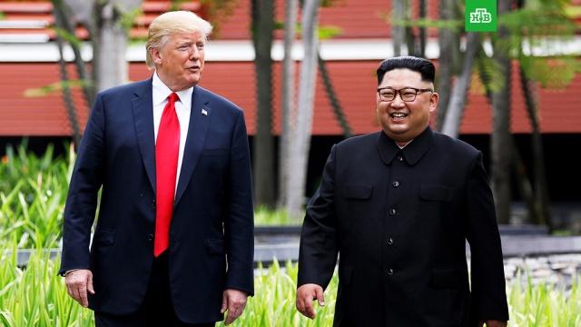 Трамп и Ким подпишут меморандум о признании прогресса в переговорах
