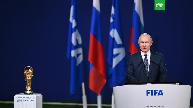 Спорт вне политики: Путин поблагодарил FIFA за помощь в подготовке ЧМ-2018