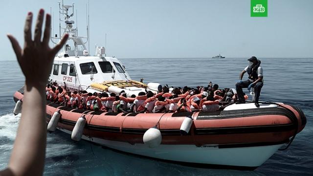 Франция согласилась принять часть мигрантов с судна Aquarius