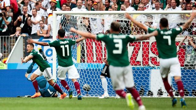 Сборная Германии проиграла мексиканцам в стартовом матче ЧМ