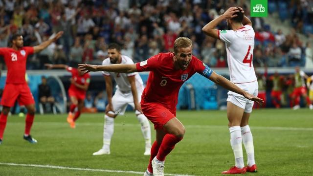 Сборная Англии по футболу обыграла команду Туниса в матче ЧМ-2018
