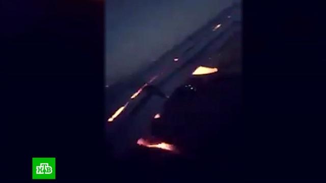 Птица попала в двигатель самолета сборной Саудовской Аравии