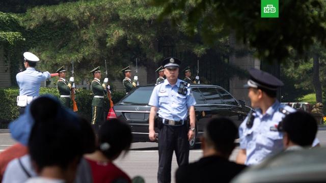 Глава КНДР прибыл в Пекин