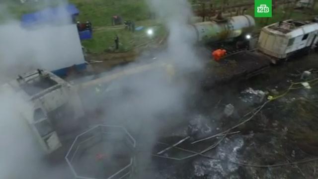 На предприятии в Иркутской области случилась утечка химикатов