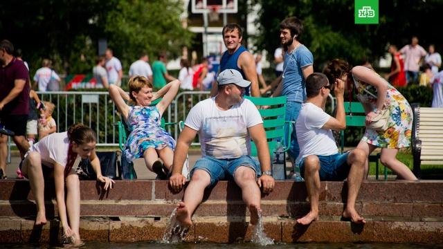 В Москве из-за жары объявили экстренное предупреждение