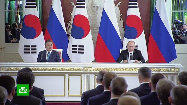 Президент Южной Кореи считает необходимым участие России в диалоге с КНДР