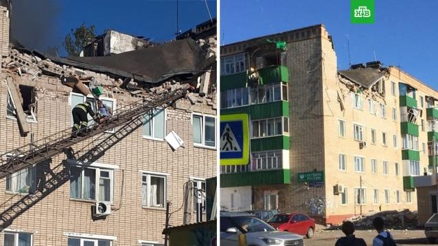 В Татарстане взрыв газа разрушил два этажа пятиэтажки
