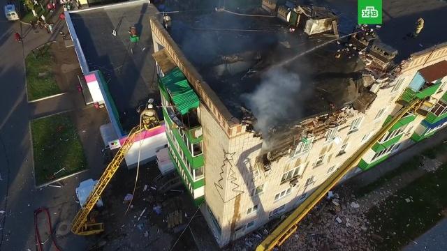 Число пострадавших при взрыве газа в пятиэтажке в Татарстане выросло до 10