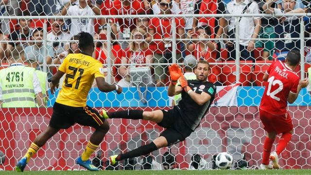 Бельгия разгромила Тунис в самом результативном матче ЧМ