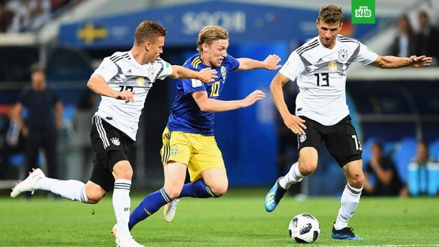 Сборная Германии обыграла шведов в Сочи