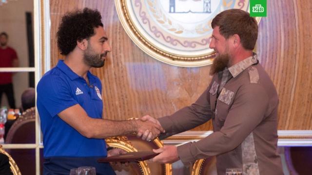 Салах стал почетным гражданином Чечни