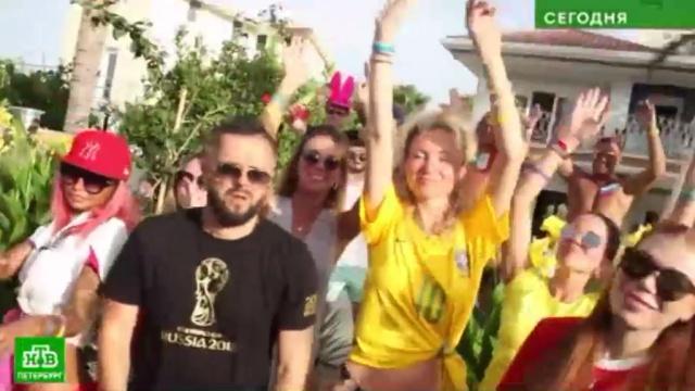 питерские рэперы придумали песню королевах футбола