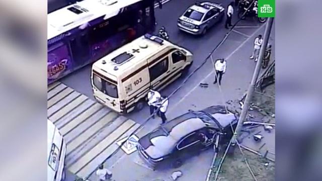 В МВД назвали причину громкого ДТП с беременной москвичкой и сотрудником вуза