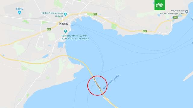В Google присвоили Крымскому мосту украинское название