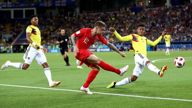 Англия вышла в четвертьфинал ЧМ, одолев Колумбию по пенальти
