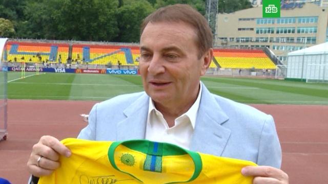 Сборная Бразилии тепло простилась с Сочи: видео