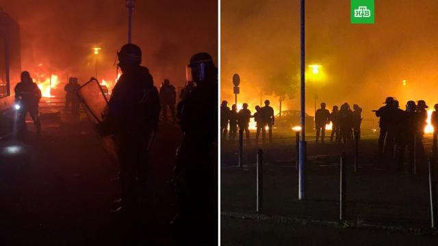 В Нанте не утихают беспорядки из-за гибели водителя от пули полицейского: начались задержания