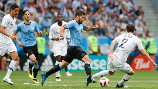 1/4 финала ЧМ: Уругвай — Франция