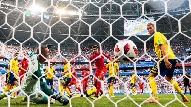 Англия обыграла Швецию и вышла в полуфинал ЧМ-2018