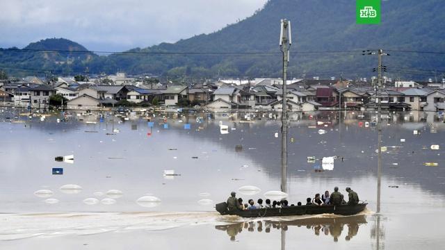 Восемь человек стали жертвами непогоды в Японии