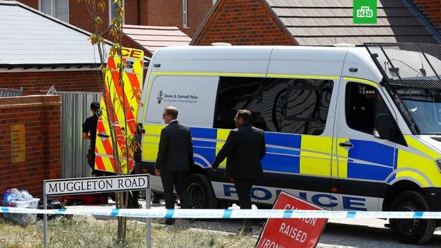 СМИ: британский полицейский госпитализирован в связи с инцидентом в Эймсбери