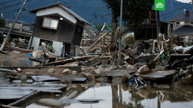В Японии число погибших из-за ливней превысило 80 человек