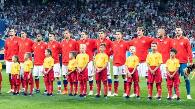ЧМ-2018: футбольная сборная России стала лучшей командой по игре в обороне