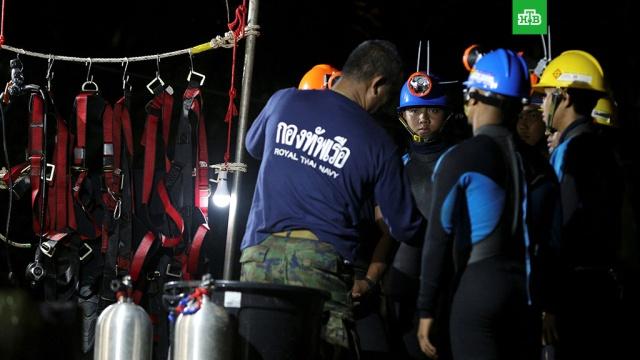 В Таиланде дайверы готовятся к последнему этапу спасательной операции