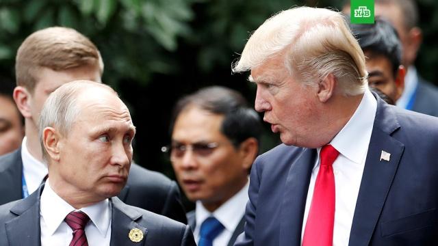 Госсекретарь США назвал главные темы переговоров Путина и Трампа