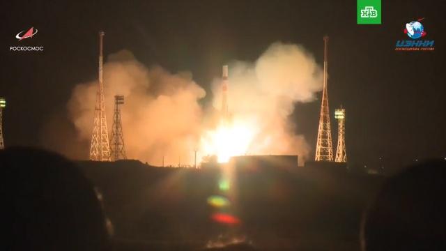 """Космический грузовик """"Прогресс МС-09"""" впервые отправился к МКС по сверхкороткой схеме"""