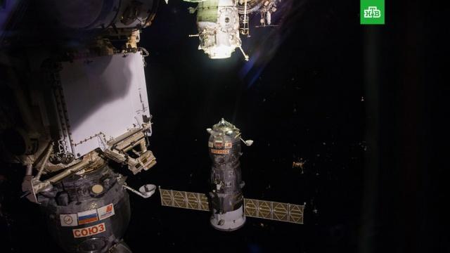 """Космический грузовик """"Прогресс"""" долетел до МКС за рекордное время"""
