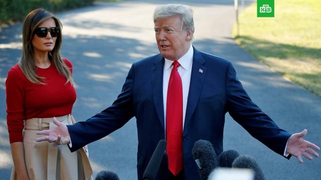 Трамп назвал Путина своим соперником