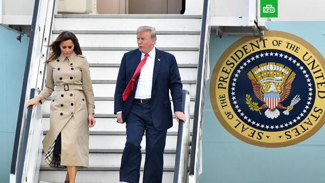 Руководство Бельгии не встретило Трампа в аэропорту из-за матча 1/2 финала ЧМ-2018