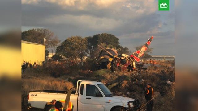 В ЮАР потерпел крушение пассажирский самолет